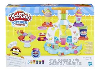 Play Doh Fantasticos Helados Hasbro. Bambino Jugueteria.