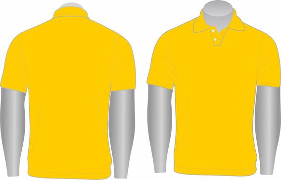 Kit 20 Camisas Gola Polo Básica Lisa Masculina Piquet Pa