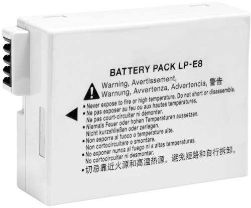 Bateria Para Canon T2i, T3i, T4i E T5i