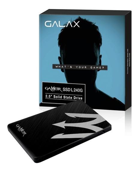 Ssd Gamer 240gb 2.5 V100t 6gb/s - Galax Com Garantia