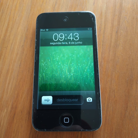 iPod Touch 4 8gb + Fone Apple