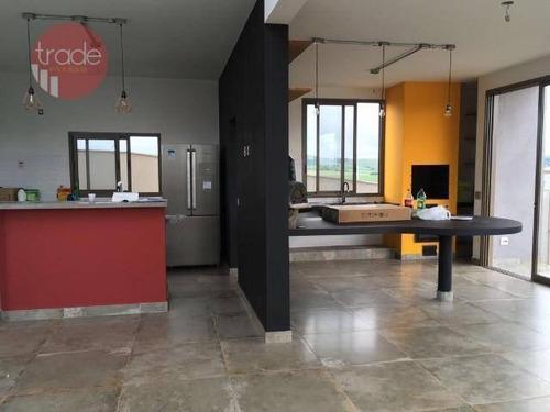 Imagem 1 de 19 de Casa Sobrado, 300m² De Construção, Sustentável, Projeto Diferenciado, Condomínio Terras De Siena. - Ca4067