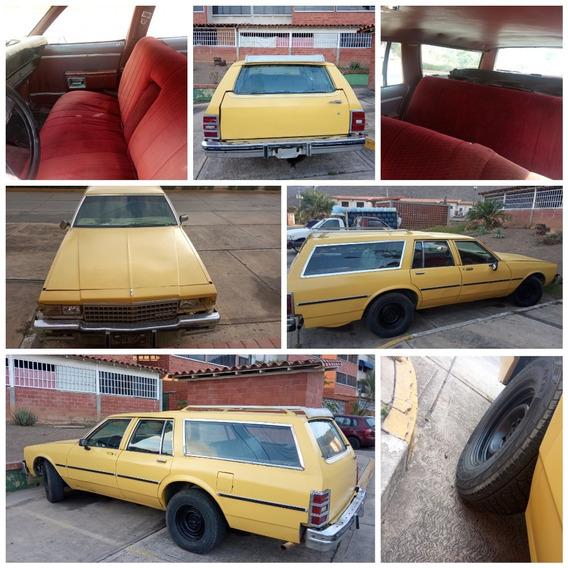 Camioneta Chevrolet Ranchera Año 1980
