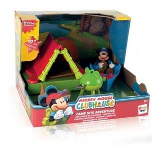 Campamento De Aventuras Con Mickey Orig Disney Mundo Manias