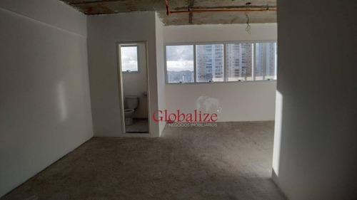 Sala À Venda, 35 M² Por R$ 298.000,00 - Ponta Da Praia - Santos/sp - Sa0037