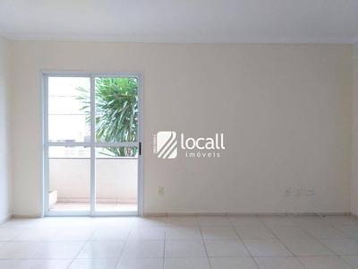 Apartamento Com 2 Dormitórios À Venda, 84 M² Por R$ 300.000 - Jardim Walkíria - São José Do Rio Preto/sp - Ap1822
