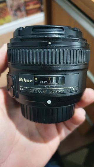 Lente Nikon Af-s Nikkor 50mm 1.8