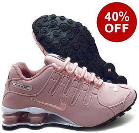 Tênis Nike Shox Nz Eu Feminino Original Rosa Rose Barato
