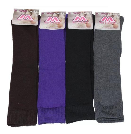 Pack 12 Calcetines Largos Para Botas Mujer - Precio X Docena