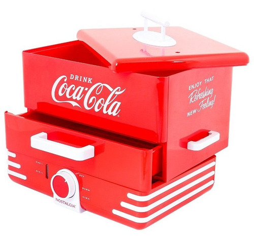 Máquina Para Perros Coca-cola Nostalgia  Roja