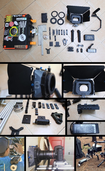 Shoulder Rig Proaim Kit-3, Mb-600 Matte Box+ Hard Case