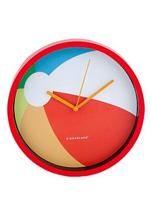 Beach Ball: Reloj De Pared (cl54)