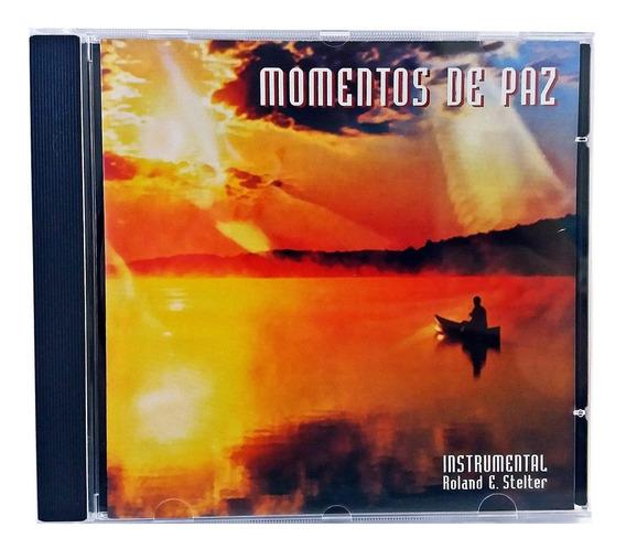 Cd De Música Instrumental P/ Relaxar - Momentos De Paz *