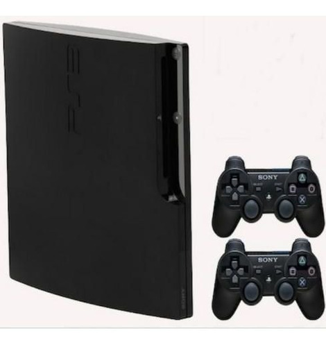 Console Playstation 3 Slim + 2 Controles