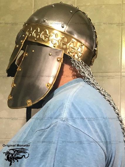 Capacete Icone Históric Batalha Roma Antig Exercito Imperial
