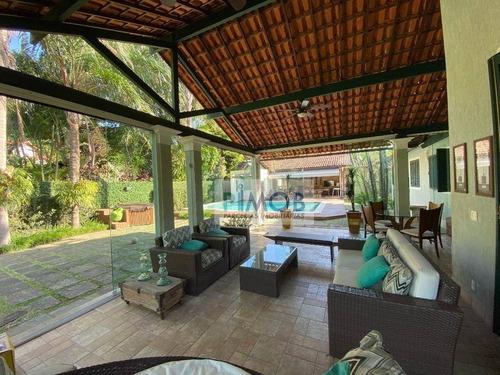 Imagem 1 de 30 de Espetacular Casa À Venda, 900 M² Por R$ 3.300.000 - Itanhangá - Rio De Janeiro/rj - Ca0092