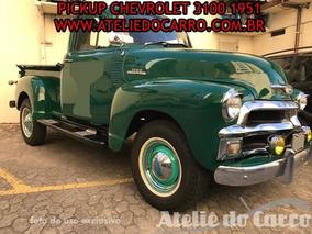 Pick Up Chevrolet 1954, Original -ateliê Do Carro Vendido
