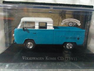 Miniatura Volkswagen Kombi Cd 1981 Escala 1/43