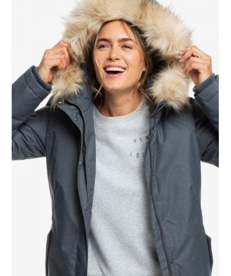 Campera Roxy Shadow Of Time Snow Impermeable Dama