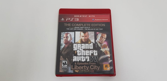 Grand Theft Auto Iv Gta 4 Episodes From Liberty City - Ps3
