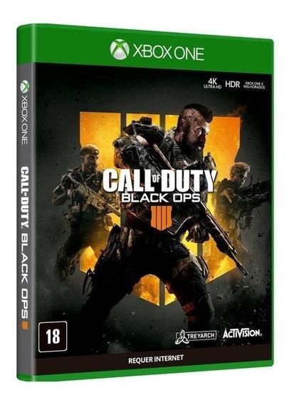 Xbox One - Call Of Duty Black Ops 4 - Mídia Física