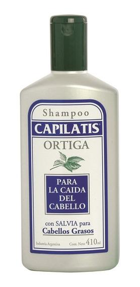 Shampoo Capilatis Salvia Cabellos Grasos Linea Ortiga 410 Ml