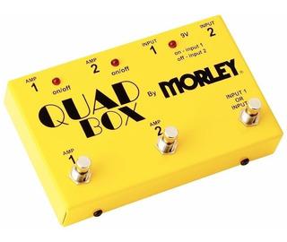Footswitch Quad Box - Morley