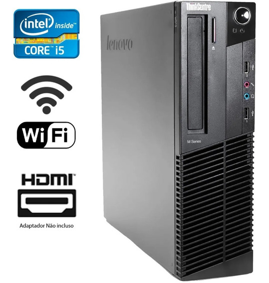 Computador Cpu Desktop Lenovo I5 4gb 500gb Ou Ssd 120gb