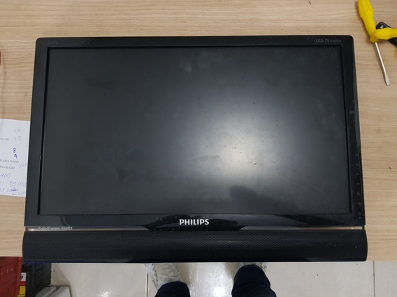 Tv Philips Mod 220ts2l Tela Quebrada