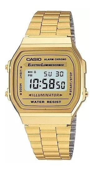 Relógio Casio Unissex Retrô A168-9wd
