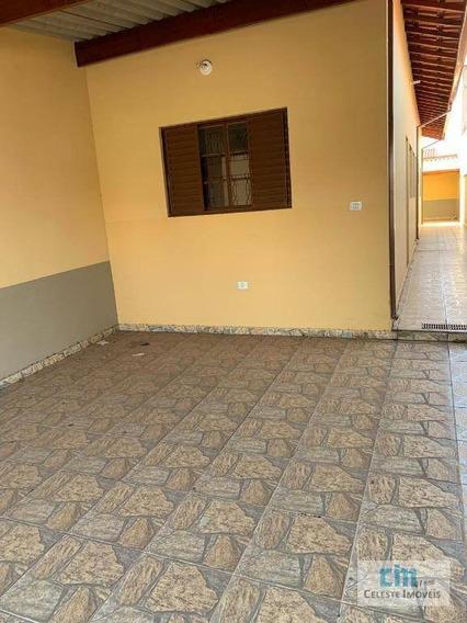 Casa Com 2 Dormitórios Para Alugar, 150 M² Por R$ 950/mês - Parque Ecológico - Boituva/sp - Ca0489