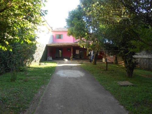Imagem 1 de 9 de Sobrado Residencial À Venda, Chácara São José, Arujá. - So0057