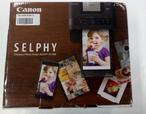 Impressora Fotográfica Canon Selphy Cp1300