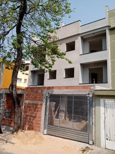 Imagem 1 de 10 de Cobertura Com 2 Dormitórios À Venda, 102 M² Por R$ 395.000,00 - Vila Alto De Santo André - Santo André/sp - Co0914