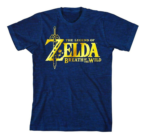 Playera Zelda Breath The Wild Nueva Nintendo + Envio Gratis