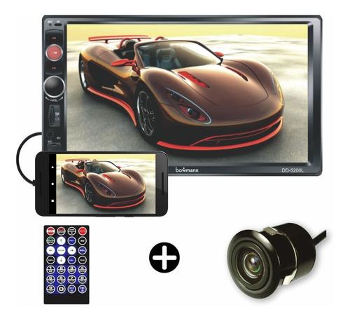 Radio Carro Pantalla Bluetooth Mirrorlink Usb Sd Bowmann