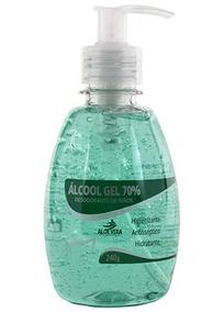 Álcool Gel 70% 240g - Vedis   Antisséptico E Hidratante