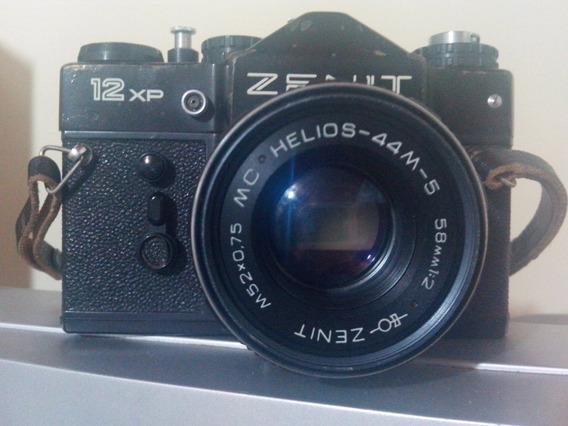 Máquina Fotográfica Zenit 12xp Usada Em Bom Estado