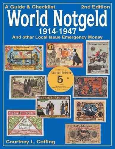 N-111 -belíssimo Catálogo Cédulas Notgeld Emergenciais Mundo