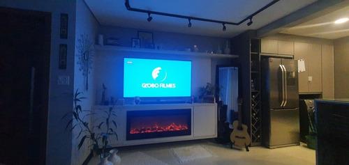 Tv Oled B9 LG 4k + Lareira Ecologica Wgrif
