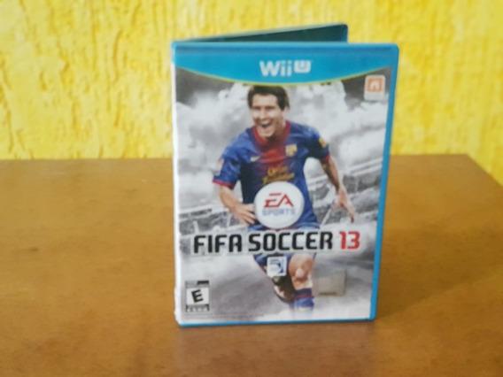 Fifa 13 Manuais Usado Nintendo Wii U Mídia Física