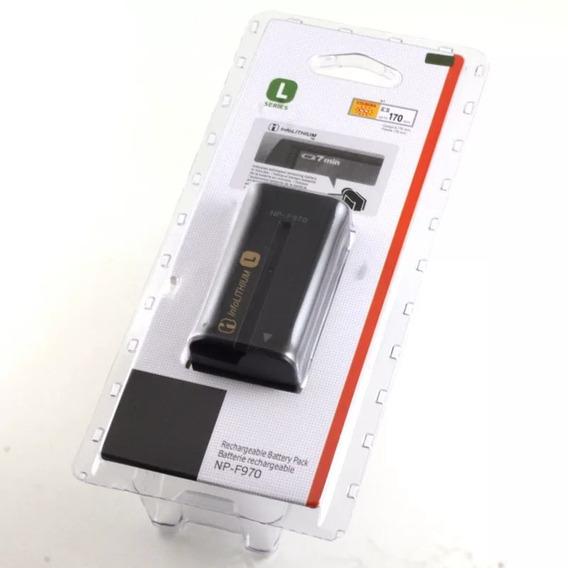 Np-f970 L Series 6300 Mah Íon De Lítio 7.2 Sony Original