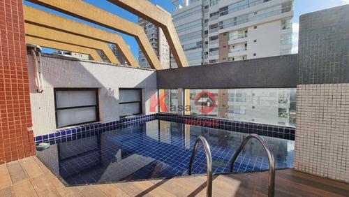 Imagem 1 de 18 de Cobertura Com 4 Dormitórios À Venda, 390 M² Por R$ 1.800.000,00 - Boqueirão - Santos/sp - Co0232