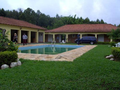 Belo Sitio Com Área De 154 Mil M², Casa Sede E Piscina !!
