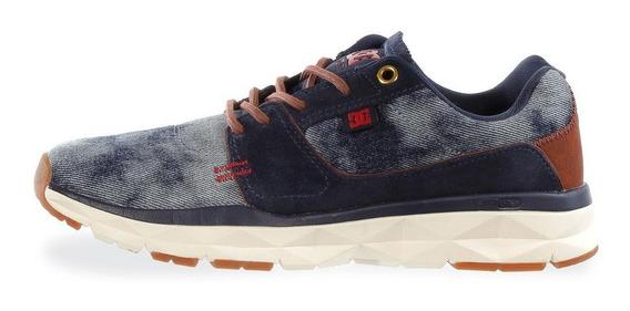 Tenis Dc Shoes Player Se - 100113dnm - Azul Mezclilla - Homb