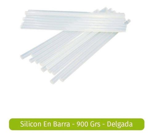 Silicon Silicona Cilicon Barra Barras Gruesa Grande 25 Und