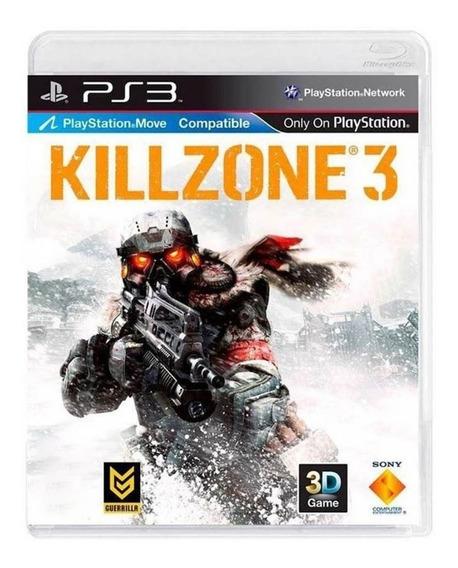 Jogo Killzone 3 - Ps3 - Original