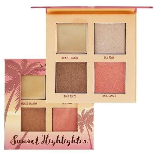 Ruby Rose - Paleta Iluminadora - Dark Sunset Highlighter