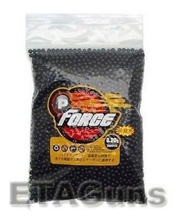 Balines Airsoft 6mm .20g Negros Extreme Tronics 5000 Bbs