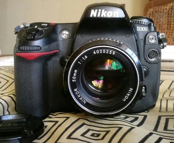 Camara Profesional Nikon D300 Negociable.